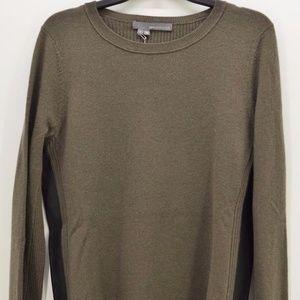 360 Sweater Women's Olive Green Sweater Sz L